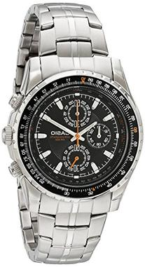 Casio Men's MTP4500D-1AV Slide Rule Bezel Aviator Stainless