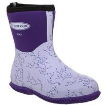 The Original MuckBoots Women's Scrub Boot,Plum Vine,5 M US