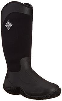 MuckBoots Women's Tack II Tall Equestrian Work Boot, Black/