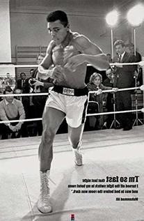 Muhammad Ali Fast Poster Art Print