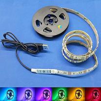 eTopxizu 100CM Multi-colour 30leds Flexible 5050 RGB USB LED