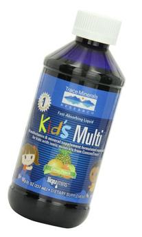 Trace Minerals Kids Multi-Vitamin/Mineral Supplement, Fast-