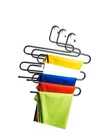 Aweoods S-type Multi-Purpose Metal Magic Pants Hanger Closet