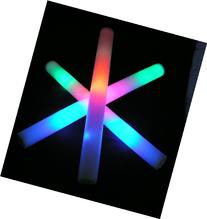 "16 Pack of 18"" Multi Color Foam Baton LED Light Sticks -"