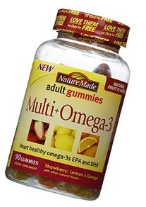 Nature Made Multi Plus Omega3 Gummies, 90 Count