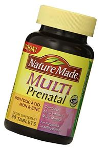 Nature Made Multi Prenatal Tabs, 90 ct