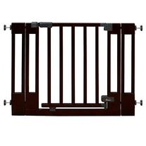 Summer Infant Multi-Use Deluxe Wood Walk-Thru Gate, Dark