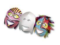 Multicultural Decorative Masks - Pack of 20