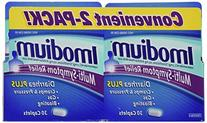 Imodium Multi-Symptom Relief - 2 Pack, 60-Count Total