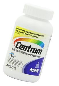 Centrum Multivitamin/Multimineral Supplement Men - 200 ct