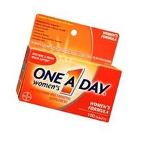 One-A-Day Women's Multivitamin and Supplement Tablets 100