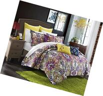 Chic Home Mumbai 8 Piece Reversible Comforter Set/Printed