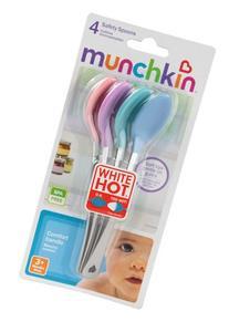 Munch Safty Spoon 4pk Size 4pk