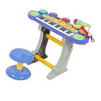 Musical Kids Electronic Keyboard 37 Key Piano W/ Microphone