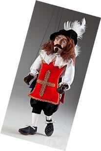 Musketeer Pierre Czech Marionette Puppet