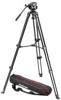 Manfrotto MVK500AM Lightweight Fluid Video System with Twin