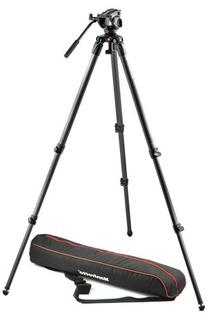 Manfrotto MVK500C Lightweight Fluid Video System with Carbon