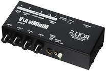 rolls MX56C Minimax Av XLR Rca 1/4 1/8 Mixer