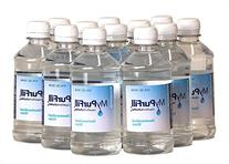 MyPurFill Demineralized Water 12 oz 12 Bottles - for