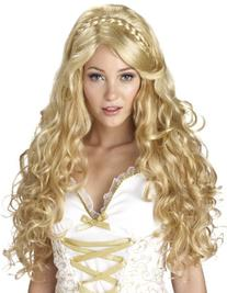 California Costumes Mythic Goddess Wig, Blonde, One Size