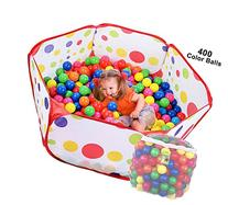 Click N Play Ball Pit Playpen Playset, Includes 400 BPA Free