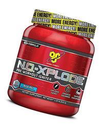 BSN N.O.-XPLODE, Blue Raz, 1.22 lb