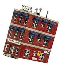 Life-Like Trains   N Scale Building Kit - Downtown Hotel