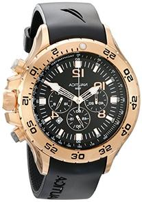 Nautica Men's N18523G NST Gold-Tone Stainless Steel Dress