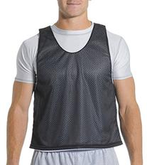 A4 N2274 Lacrosse Reversible Practice Jersey - Black & White