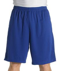 """A4 9"""" Moisture Management Shorts with Side Pockets, Royal,"""