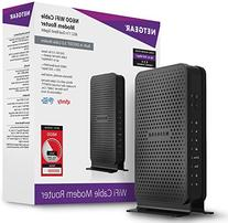 NETGEAR N600  WiFi DOCSIS 3.0 Cable Modem Router  Certified