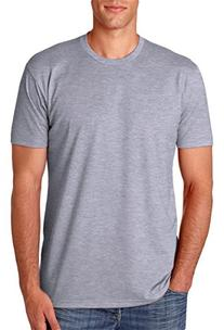 N6210 Next Level Men's CVC Crew - Dark Heather Gray - Large