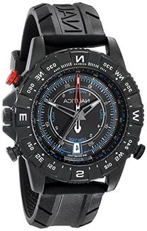 Nautica Men's NAD21001G NSR 103 TIDE TEMP COMPASS Watch with