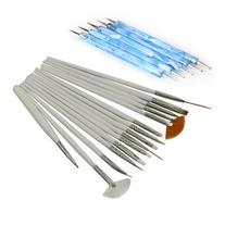 EVERMARKET 15Pcs Nail Art Design Painting Drawing Brushes