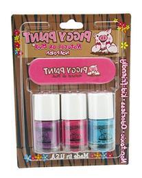 Piggy Paint Nail Polish and File Kit