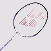 to:Yonex Nanoray 20 Badminton Racquet White/Royal Blue