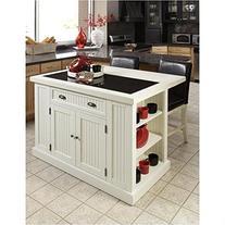 Home Styles Nantucket Kitchen Island - White