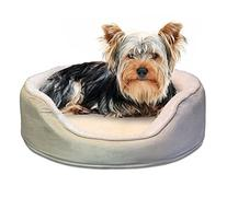 Furhaven Pet NAP Pet Bed Orthopedic Oval Egg-Crate Lounger