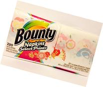 Bounty Napkins Select Prints, 220 1-ply quilted napkins