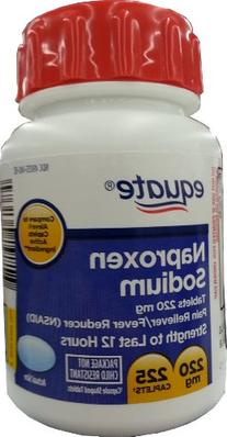 Naproxen Sodium Caplets 220mg 225ct, by Equate, Compare to