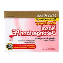 GoodSense Nasal Decongestant Phenylephrine HCl 10 mg tablets