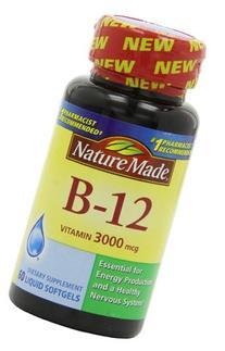 Nature Made Nat Made B-12 3000Mcg 60 Sg
