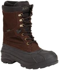 Kamik Men's Nationplus Snow Boot,Dark Brown,13 M US