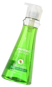 Method Naturally Derived Dish Soap Pump, Cucumber, 18 Ounce
