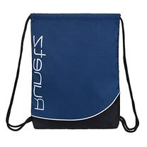 Runetz - NAVY BLUE Gym Sack Bag Drawstring Backpack Sport