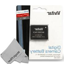 Vivitar NB-11L / NB-11LH Battery Set for Canon PowerShot