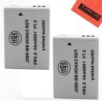 BM Premium 2-Pack of NB-5L Batteries for Canon PowerShot