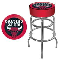 NBA Chicago Bulls Padded Swivel Bar Stool