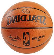 "Spalding Replica 29.5"" Full Size NBA Game Basketball"