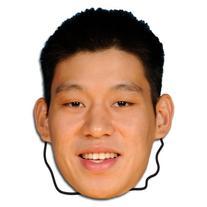 NBA Houston Rockets Jeremy Lin Player Face Mask